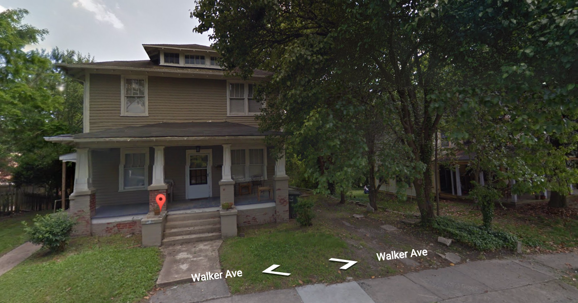 909 Walker Avenue, view from street