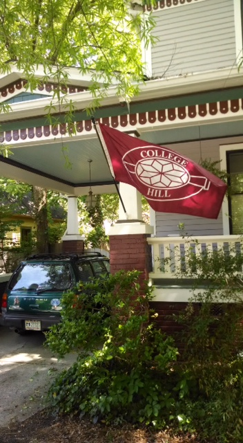 College Hill flag