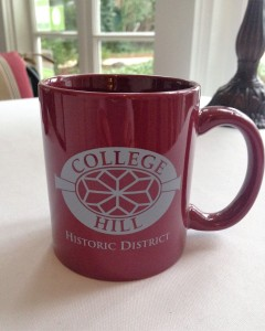 College Hill Mug Close-up