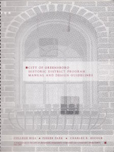 f Historic District Manual and Design Guidelines