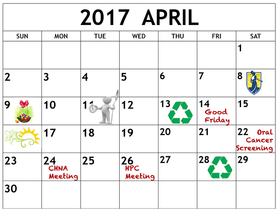 Calendar April Events : April calendar of events college hill neighborhood