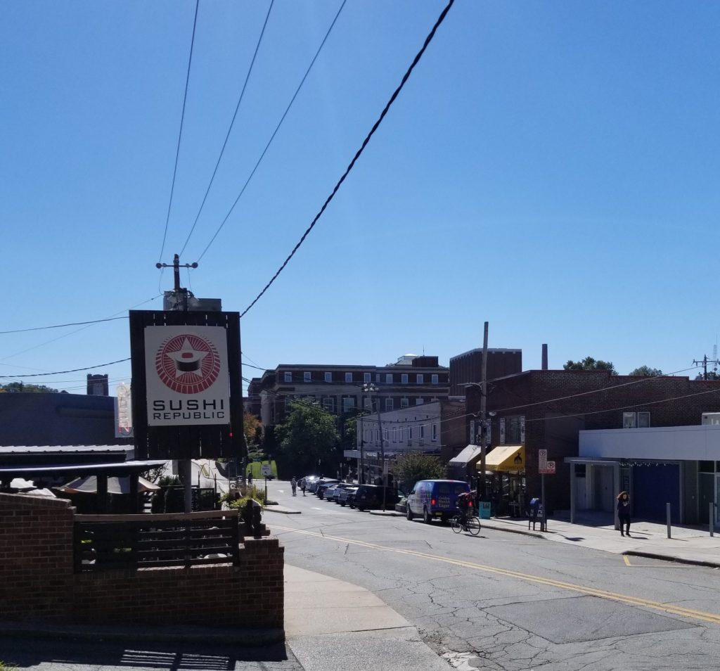 Tate Street busness district